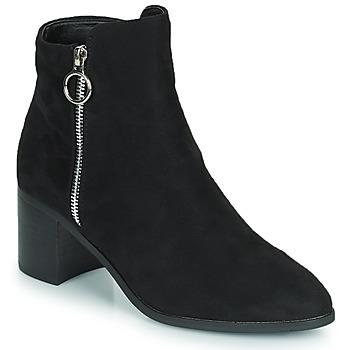 Shoes Women High boots Moony Mood PETROLIA Black