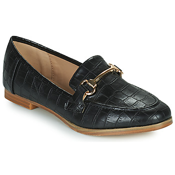 Shoes Women Loafers Moony Mood PRIVA Black