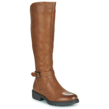 Shoes Women High boots Moony Mood PARIO Brown