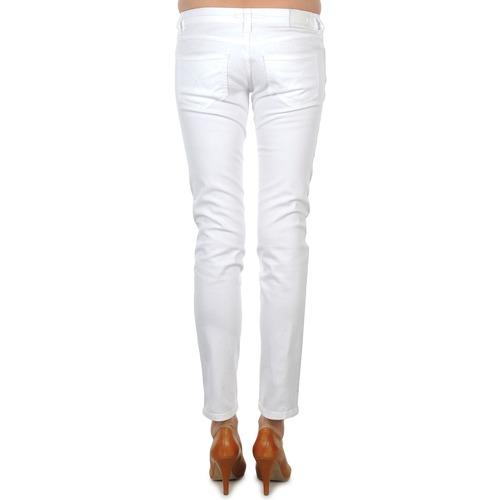 Calvin BORDURE White JEAN ARGENTEE Jeans Klein BLANC PqA7qxrzw8