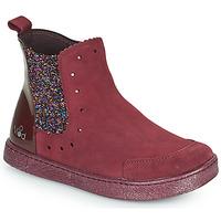 Shoes Girl Mid boots Mod'8 BLANOU Bordeaux