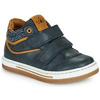 Shoes Boy Hi top trainers Mod'8 KYNATOL Marine / Mustard