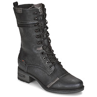 Shoes Women High boots Mustang KASHINA Anthracite