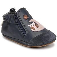 Shoes Girl Baby slippers Robeez NICE OWL Marine