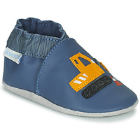 Shoes Boy Baby slippers Robeez YARD ROAD Blue / Yellow