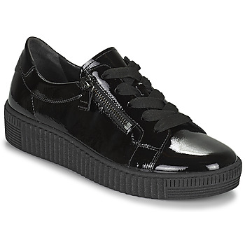 Shoes Women Low top trainers Gabor 7333497 Black