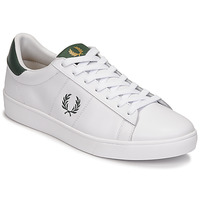 Shoes Men Low top trainers Fred Perry SPENCER LEATHER White / Green
