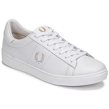 Shoes Men Low top trainers Fred Perry SPENCER LEATHER White