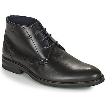 Shoes Men Mid boots Fluchos OLIMPO Black
