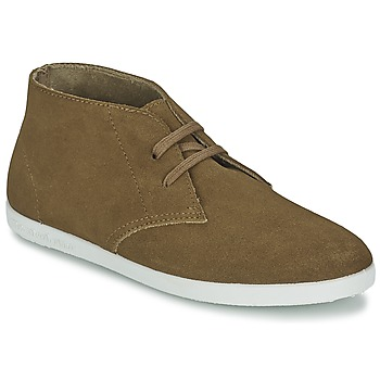 Shoes Women Hi top trainers Yurban PERTU Camel
