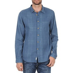 Clothing Men long-sleeved shirts Façonnable JJMCT502000ERE Blue