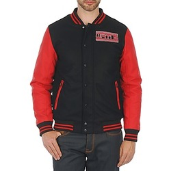 Clothing Men Jackets Wati B OUTERWEAR JACKET Black / Red