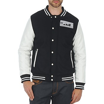 Clothing Men Jackets Wati B OUTERWEAR JACKET Black / White