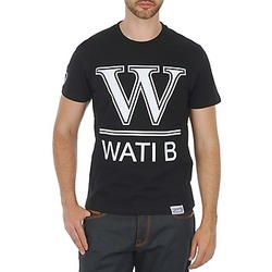 Clothing Men short-sleeved t-shirts Wati B TEE Black