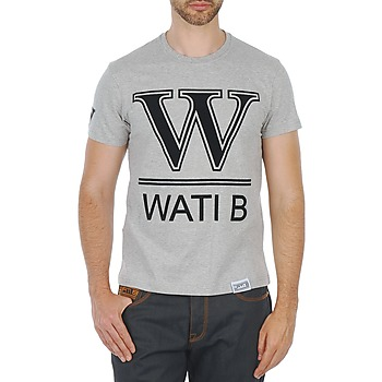 Clothing Men Short-sleeved t-shirts Wati B TEE Grey