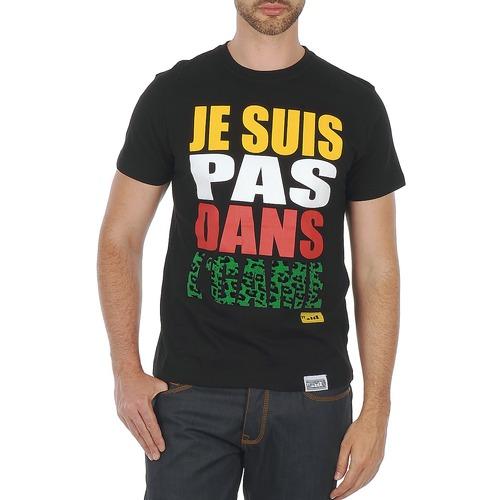 Clothing Men short-sleeved t-shirts Wati B TEE Black