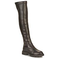 Shoes Women Thigh boots Ikks BT80105 Black