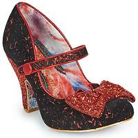 Shoes Women Heels Irregular Choice FANCY THAT Black / Red