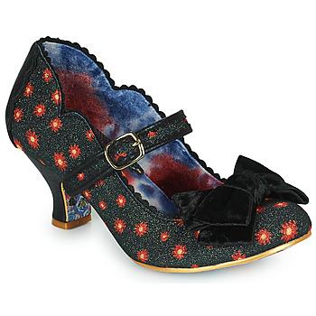 Shoes Women Heels Irregular Choice SUMMER BREEZE Black / Red