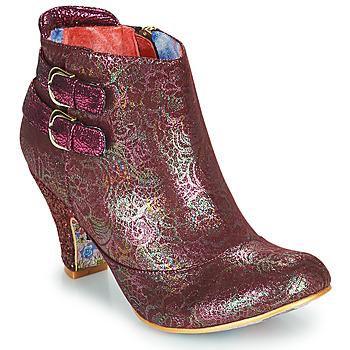 Shoes Women Ankle boots Irregular Choice THINK ABOUT IT Bordeaux