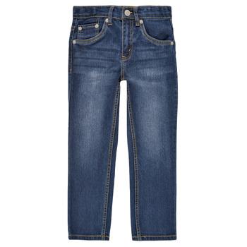 Clothing Boy Slim jeans Levi's 511 SLIM FIT JEANS Blue