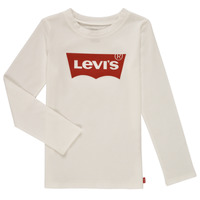 Clothing Girl Long sleeved tee-shirts Levi's LS BATWING TEE White