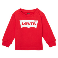 Clothing Boy Long sleeved tee-shirts Levi's L/S BATWING TEE Red