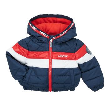 Clothing Boy Duffel coats Levi's COLORBLOCK JACKET Multicolour