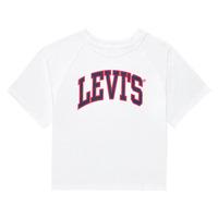 Clothing Girl Short-sleeved t-shirts Levi's SSRGLANHGHRISETESHIRT White