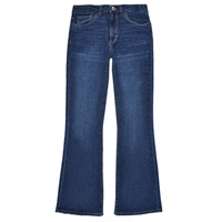 Clothing Girl Bootcut jeans Levi's HIGHRISECROPFLARE Blue