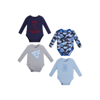 Clothing Boy Sleepsuits Guess BOULLA Multicolour