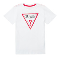 Clothing Boy Short-sleeved t-shirts Guess CELAVI White