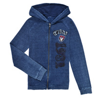 Clothing Boy Sweaters Guess TRAMI Blue