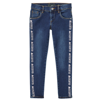 Clothing Girl Slim jeans Guess PALINCA Blue