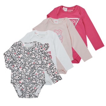 Clothing Girl Sleepsuits Guess BOULLA Multicolour
