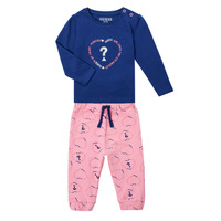 Clothing Girl Sets & Outfits Guess ANISSA Pink / Blue