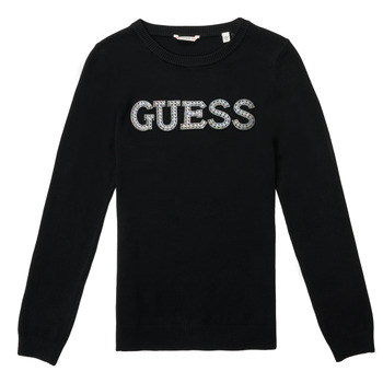 Clothing Girl Jumpers Guess TAKEI Black