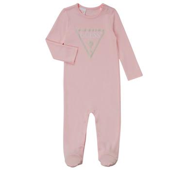 Clothing Girl Sleepsuits Guess TIFENE Pink