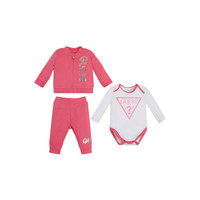 Clothing Girl Sets & Outfits Guess ETHAN Pink