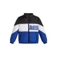Clothing Boy Duffel coats Guess THABITHA Blue