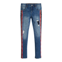 Clothing Girl Slim jeans Guess TRAMIN Blue