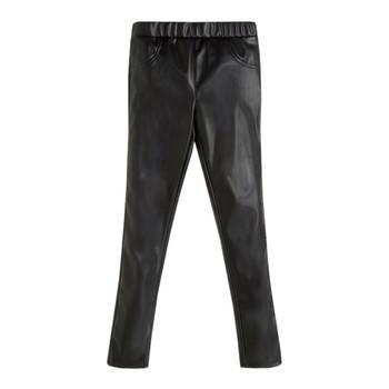 Clothing Girl 5-pocket trousers Guess PATALOT Black