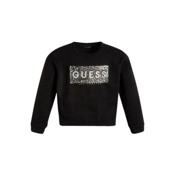Clothing Girl Sweaters Guess KAMIL Black