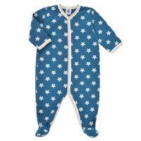 Clothing Boy Sleepsuits Petit Bateau SOLARIE Blue / White