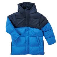 Clothing Boy Parkas Petit Bateau KAYS Blue