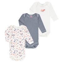 Clothing Girl Sleepsuits Petit Bateau FERY Multicolour