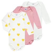 Clothing Girl Sleepsuits Petit Bateau GRELOU Multicolour