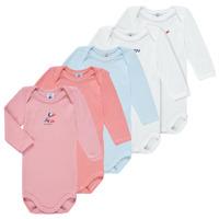 Clothing Girl Sleepsuits Petit Bateau PUNIKA Multicolour