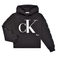 Clothing Girl Sweaters Calvin Klein Jeans SALOMA Black