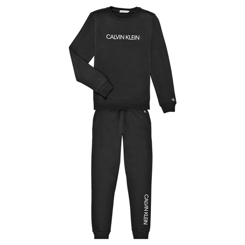 Clothing Boy Tracksuits Calvin Klein Jeans RATELIN Black